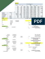 Data Perhitungan Design