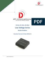 Proximity RF Card Reader