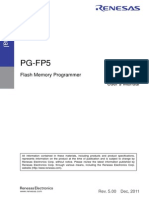 PG-FP5Flash Memory Programmer RENESAS