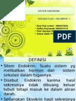 Ppt Endokrin Anfisman Kelompok 1