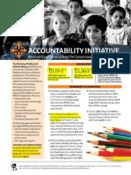 Accountability Initiative RMSA Budget 2015-16