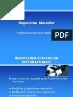 NEGOCIEREA AFACERILOR
