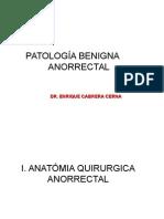 Patologia Ano Rectal- Diapos