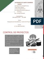 Control de Proyectos y Flujograma de Desembolso