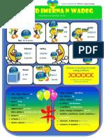Poster Educatif Amazigh - Les Adverbes de Lieu