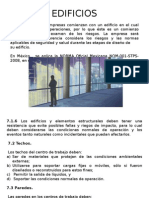 Normatividad en edificios.