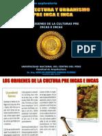 Los Origenes de La Culturas Pre Incas e Incas