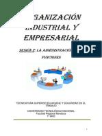 Función y Proceso Administrativo - Sesión 2