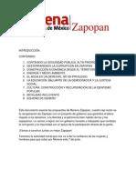 Propuestas de Marco Tulio Rosas, candidato a Presidente Municipal de Zapopan (MORENA)