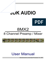 Jdk Audio 8mx2 High End 8 Channel Preamps