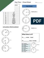7. Ficha de Trabalho - Time