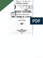 SAINT-MARTIN Louis-Claude de - Tableau Naturel Des Rapports Qui Existent Entre Dieu, l'Homme Et l'Univers - 1900