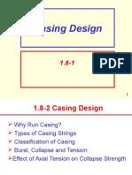 Casing Design1.9 Burst,Collapse, Tension