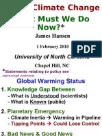 James Hansen Chapel Hill