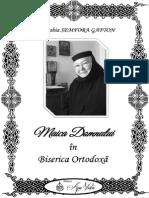 Semfora Gafton - Maica Domnului în Biserica Ortodoxă