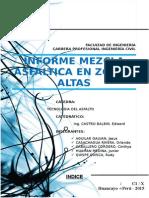 Informe Final 1 de Mescla Asfaltica en Zonas Altas