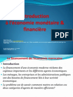 Le Financement de l Economie Marocaine Resume