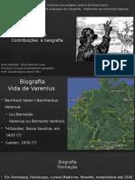 Varenius e a geografia