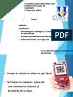 metodologias y estartegias clase 1