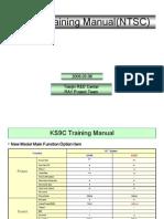 Manual de Entrenamiento de Tv Samsung Cl21k40mq Chasis Ks9c