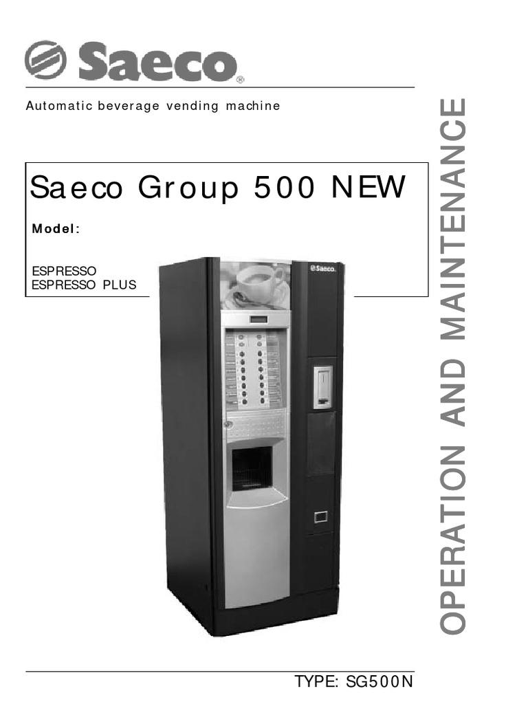 500 инструкция group saeco