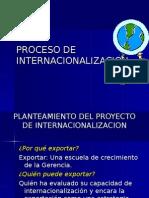 Proceso de Internacionalizacion