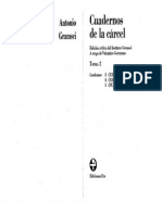 Gramsci Antonio - Cuadernos de La Cárcel Tomo 2