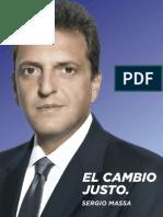 El Cambio Justo - Sergio Massa
