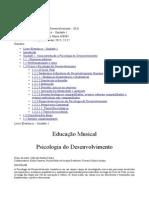 Livro Eletronico Unidade 1 Psicologia Do Desenvolvimento