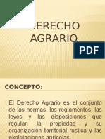 Derecho Agrario