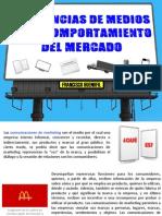 Influencia de Medios en Marketing - Francisco J Huenufil