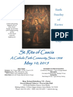 St. Rita Parish Bulletin 5/10/2015