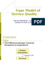 Ch 2 Gaps Model Analysis