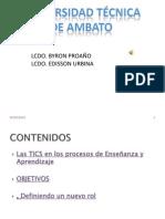 Lcdo. Byron ProaÑo Lcdo. Edisson Urbina