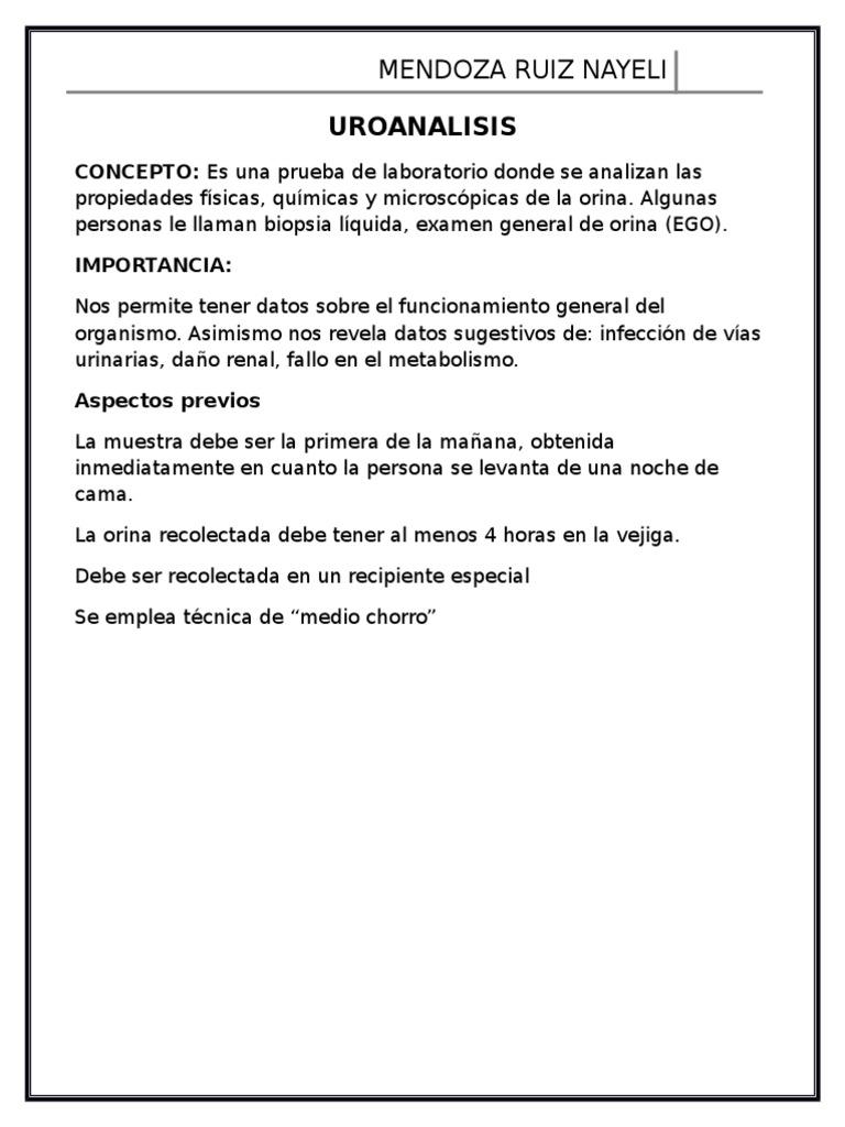 guia de practica clinica prueba habitual de orina