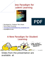 A New Paradigm for Student Learners 2015