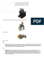 Historia de la tecnología del siglo XVIII trabajo de tamara(digitacion)