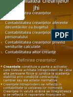 Contabilitatea-Creantelor Si Datoriilor Comerciale