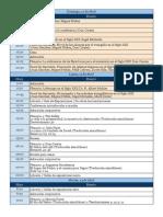 TGC 2015 - Programa