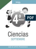 Ciencia 4 basico