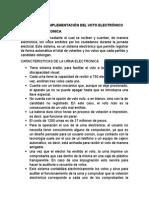 Tema # 10 Ventaja de La Implementacion Del Voto Electronico