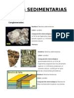 Rocas Sedimentarias