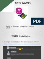 Installing Wamp