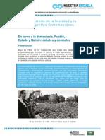HSCAC en Torno a La Democracia