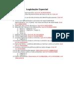 Legislação Especial PRF