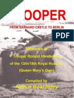 TROOPER From Barnard Castle to Berlin - Arthur Beardsley