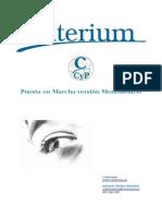 Criterium CyP Monousuario Puesta en Marcha
