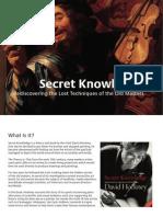 Secret Knowledge Presentation