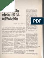 Problemas vivos de la Educacion Ruiz Gimenez