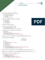 Analisis de vectores nivel 1